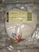 Longaberger Rare 2012 Tree Trimming Little Drum Liner Mint Free Shipping