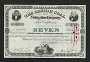 American Banknote Co. Stock Certificate The Lehigh Coal And Navigation Company