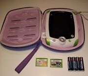 Leapfrog Leappad 2 Explorer Learning System Green Edition W/games And Batteries