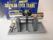 American Flyer 6-49877 Elevated Gilbert Chrome Oil Tank With Yard Light
