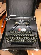 Vintage Smith Corona Portable Silent 043 Typewriter Functional Excellent Cond