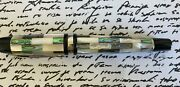 Taccia Mother Of Pearl Pen Chrome Trim New Needs Ink Refill Free Shipping