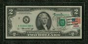 1976 2.00 Us Currency Note Postmarked First Day Issue 4/13/1976 Bellaire Texas