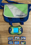 Leapfrog Leapster 2 With 6 Games And Carrying Case-c3