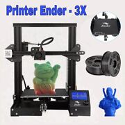 New Creality Ender 3 Pro, Ender 3 Prox 3d Diy Printer Magnetic Mean Well Power