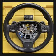 Oem Bmw 2013-2016 F10 M5 Dct M-sport Paddle Shifter Steering Wheel Complete