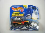 1998 Mattel Hot Wheels Long Haulers Semi And Trailer With 34 Ford Moc
