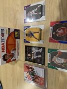 Nba Hoops Lot With Many Rookies Including Haliburton And Weisman All Sleeved