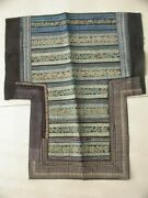 Chinese Minority Miao People's Old Hand Embroidery Baby Carrier