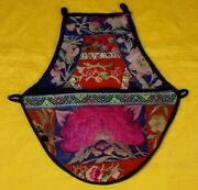 Exotic Tribe Chinese Songtao Peopleand039s Old Hand Embroidery Bag Bellybandbirdsandfl
