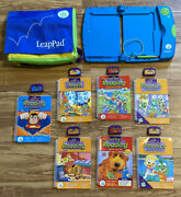 Leapfrog Leappad Learning System With 7 Books / 7 Cartridges And Carrying Case-c3