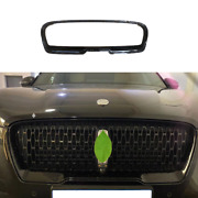 Black Exterior Front Grille Grill Frame Trim For Lincoln Continental 2017-2021