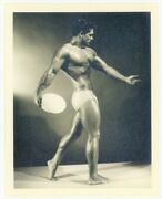Bruce Of La 1950 Beefcake Physique Photo Los Angeles Nude Male Hunk Gay Q7467