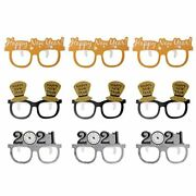 New Decorations Years Eve Party Happy 2021 Supplies - Happy New Year Glasses Eve