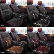 Wooden Beads Waist Support Auto Car Seat Cover Massaging Cool Cushion Chair New