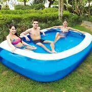 Summer Inflatable Family Kids Children Adult Play Bathtub Water Swimming Pool La