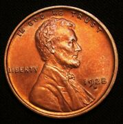 1928-d Lincoln Wheat Cent Gem Bu+++++red