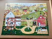 Bits And Pieces 300 Piece Puzzle - Fall Mail Call 18 X 24 J. Holodook Complete