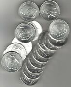 Indian Head Silver Round Coin - 20 In The Roll