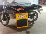 Authorized Wizard Sales And Service Scooter Chalkboard Sign Moped Gas Oil Dealer