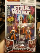 Star Wars X-wing Rogue Squadron 13 Comic Pack 1 Action Figure Warrior Princess
