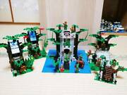 Lego Castle River Fortress 6077 Hideout 6054 Camouflaged Outpost 6066 6024 Used