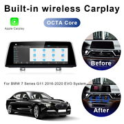 8-core Android Car Gps Stereo Head Unit Bt Wireless Carplay For Bmw 7 Series Evo