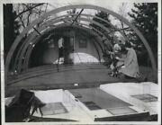 1946 Press Photo Glass House Construction By James Mfg Co In Wis