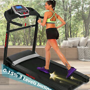 2.25hp Incline Electric Treadmill Heavy Duty Foldable Motorized Running Machine
