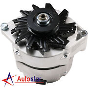 High Output Alternator For Chevy One 1 Wire 12v 105 Amp 10si Self-exciting