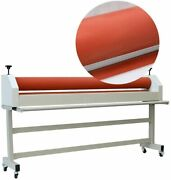 New 51inch 1300mm Manual Stand Soft Rubber Roll Cold Laminator Machine Us Stock