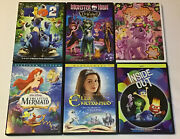 Little Mermaid, Monster High, Inside Out, Ella Enchanted, My Little Pony And Rio 2
