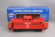 Usa Trains 12152 G Scale Baltimore And Ohio Center Cupola Caboose - Metal Wheels
