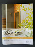 Modern Real Estate Practice 19th Edition Update - Great Condition