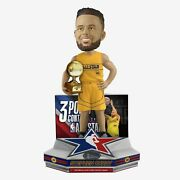 Steph Curry Golden State Warriors 2021 Nba All-star 3 Point Champion Bobblehead