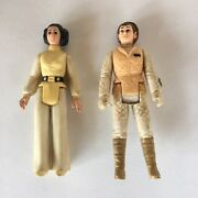 Vintage Princess Leia Action Figures. Lot Of 2. Made In Hong Kong.