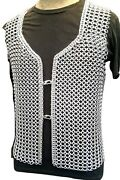 Handmade Chainmaille Shirt Aluminum Chainmail Vest For Combat Or Cosplay Unisex