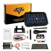 8 Gang Switch Panel Led Light On-off Electronic Relay System Box For Truck Ford