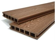 Composite Wood Decking   Wood Grain Effect   Teak Brown   All Kits Available