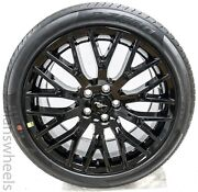 4 New Ford Mustang 19andrdquo Staggered Factory Oem Black Track Pack Wheels Rims Tires
