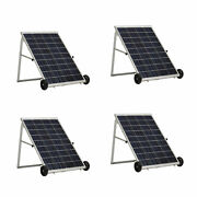 Nature's Generator 100w Solar Power Panel, Cable And Mc4 Branch Connector 4 Pack