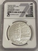 A Piece Of History 2008 Belarus Sedov Hologram Ngc Pf70 1oz Silver Coin