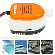 1100gph 12v Marine Diving Submersible Automatic Extremely Efficient Bilge Pump