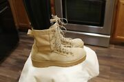 Nwt Wellco Us Army Tan Flight And Combat Work Boots Size 10 Regular