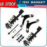 For 2000-01 Plymouth Neon Front Complete Struts Control Arm Ball Joint Sway Bar