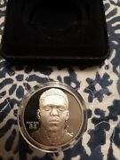 1997-00 Highland Mint-coins Randy Moss 3670/5000 Silver Limited Troy Ounce