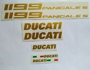 Stickers Decals Ducati 1199 Panigale S Gold Set Kit