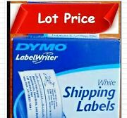 Lot Of 8 Pcs Dymo 30256 Shipping Labels, 2 5/16- By 4-inch
