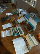 Misc Brand 1/87 H-o Scale Box Car Freight Trains With Boxes And Instructions