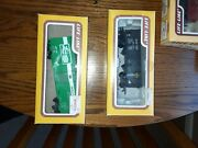 Life-like Brand H-o Scale Box Cars And Misc Trains With Boxes
